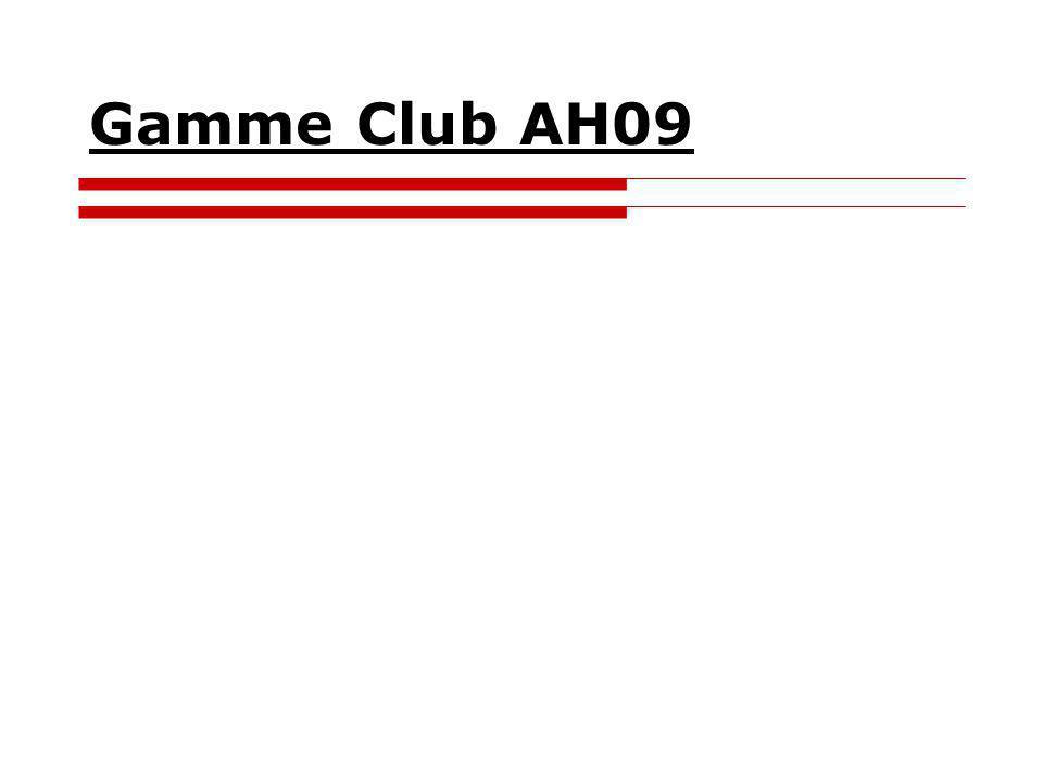 Gamme Club AH09