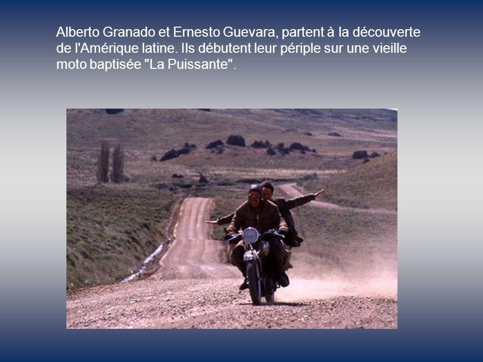 Ernesto Guevara Alberto Granado Gael Garcia BernalRodrigo De la Serna