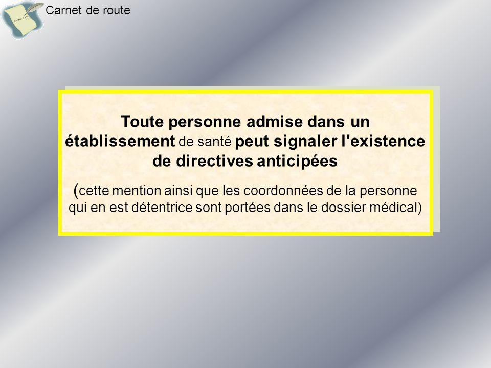 Les directives anticipées peuvent être conservées par leur auteur ou confiées par celui-ci : - à la personne de confiance mentionnée - ou, à défaut, à