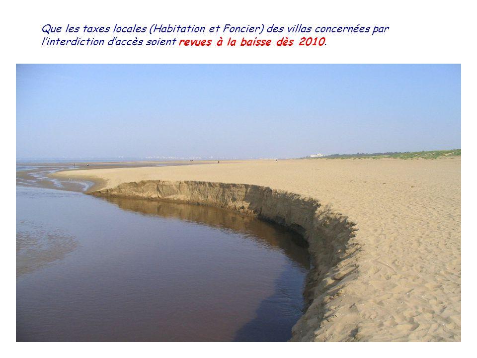 Quen saison (juin….septembre) la qualité sanitaire des eaux de baignade des plages de Saint-Brévin lOcéan fasse lobjet dun contrôle deux fois par semaine et que les résultats soient affichés à lentrée des plages.