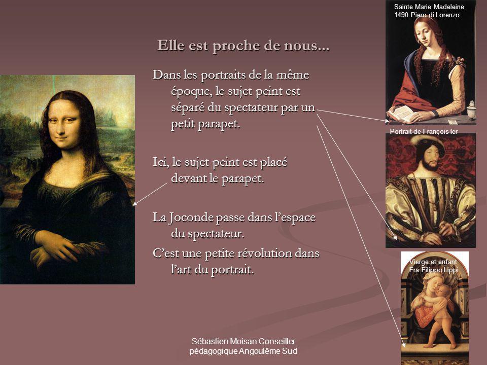 Sébastien Moisan Conseiller pédagogique Angoulême Sud Il ny a pas de lignes franches sur son visage.
