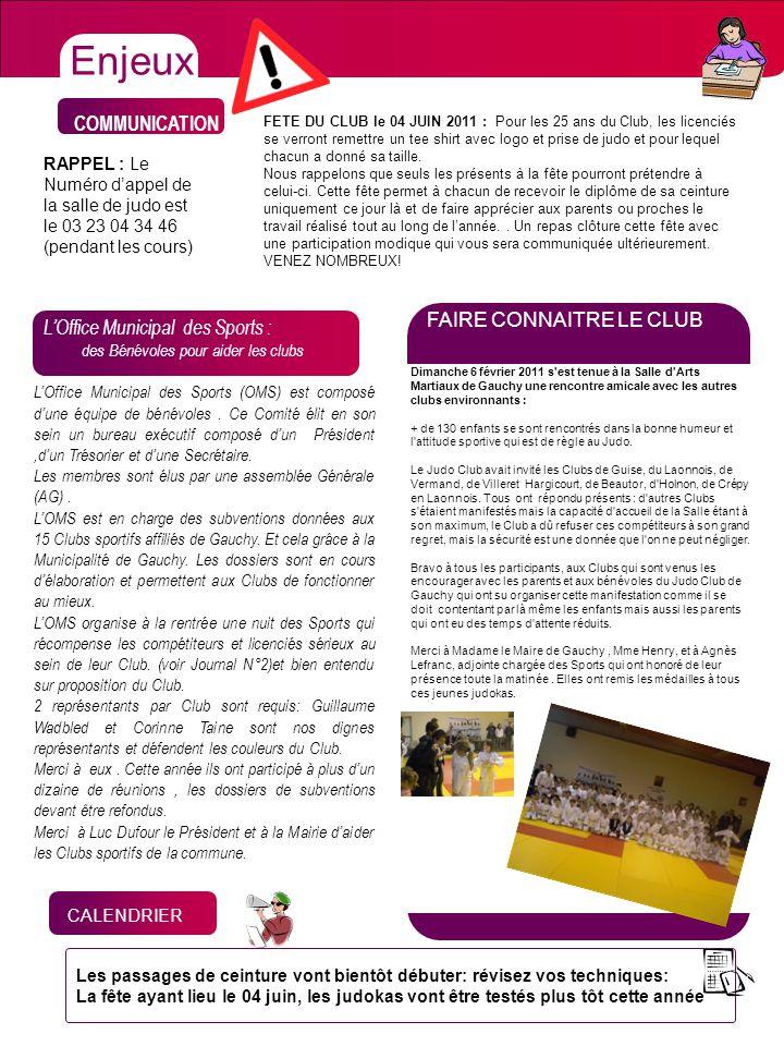 CHIFFRES X COMMUNICATION LOffice Municipal des Sports : des Bénévoles pour aider les clubs LOffice Municipal des Sports (OMS) est composé dune équipe
