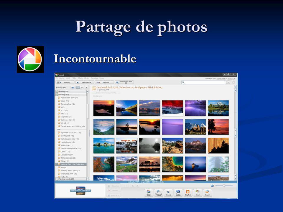 Partage de photos Incontournable Incontournable