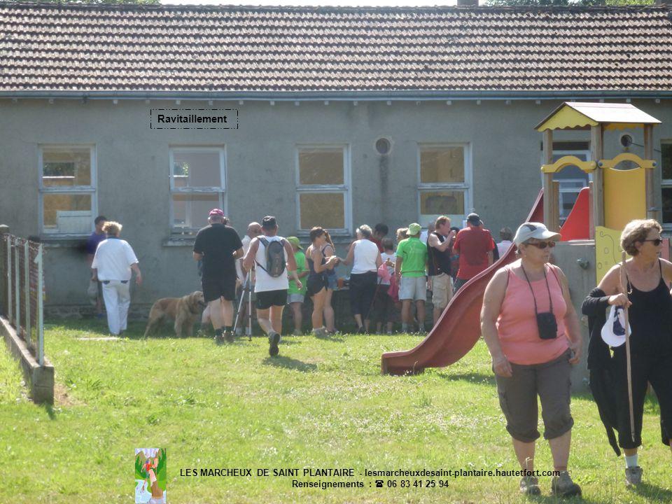 LES MARCHEUX DE SAINT PLANTAIRE - lesmarcheuxdesaint-plantaire.hautetfort.com Renseignements : 06 83 41 25 94 Ravitaillement