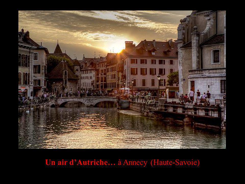 Un air dAutriche… à Annecy (Haute-Savoie)