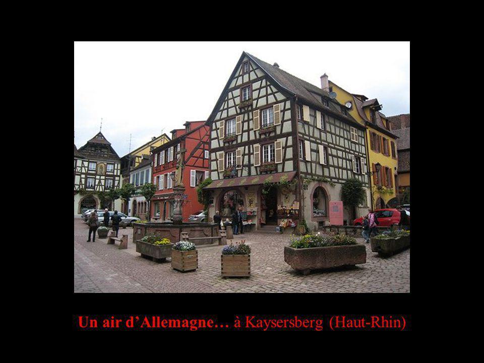 Un air dAllemagne… à Kaysersberg (Haut-Rhin)
