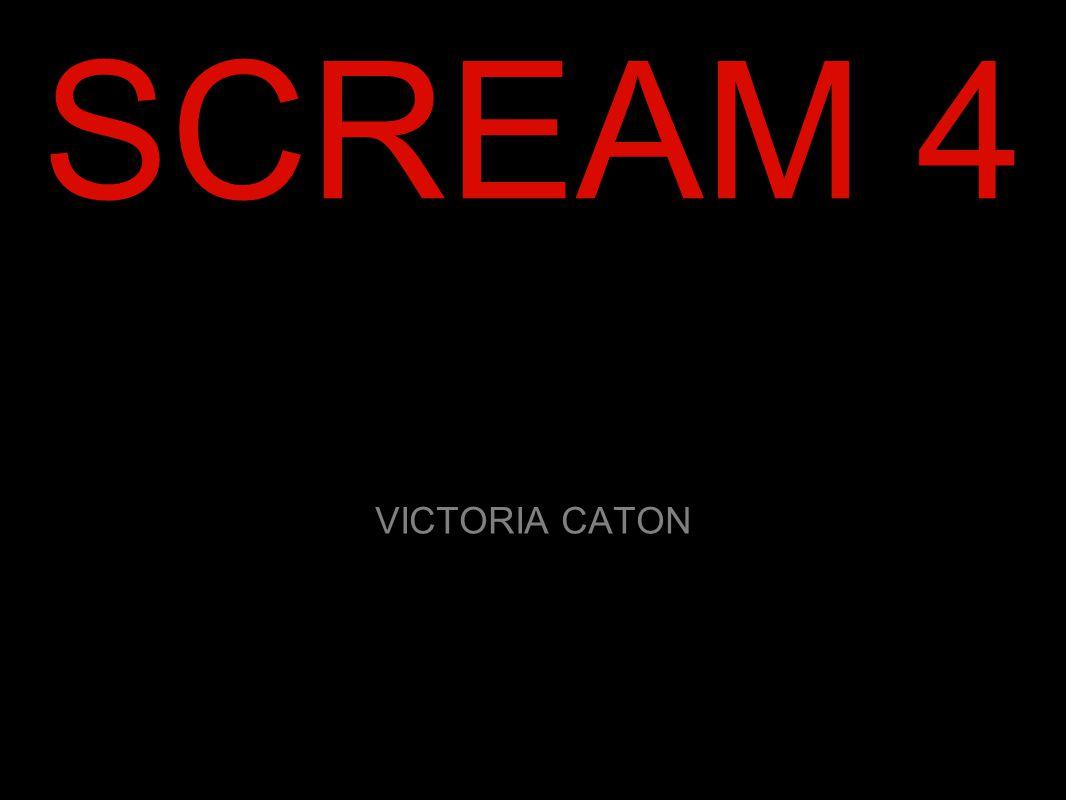 SCREAM 4 VICTORIA CATON