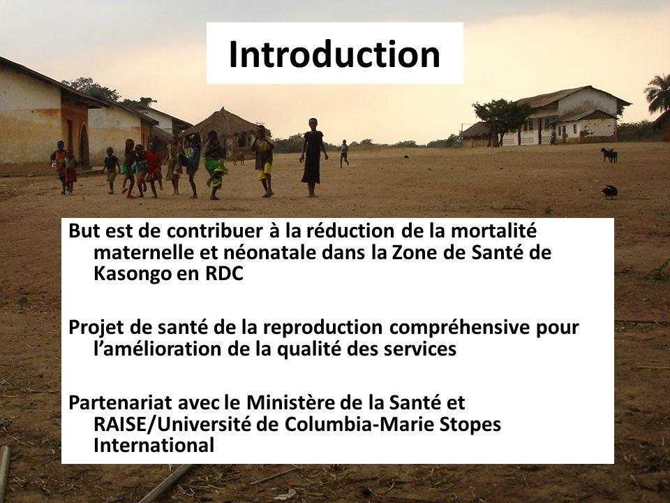Zone de Sante de Kasongo 1 Hôpital Général de Référence 2 Centres de Santé de Référence 19 Centres de Santé Population: 192.674 Habitants Zone de Santé de Kasongo