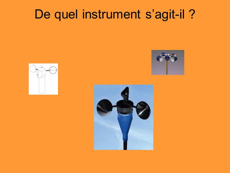 De quel instrument sagit-il ?