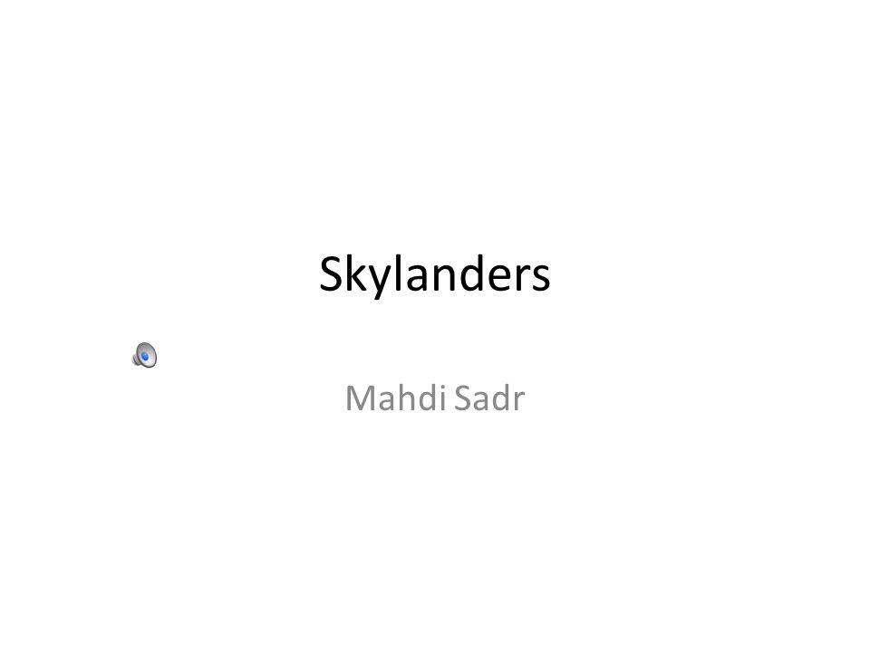 Skylanders Mahdi Sadr