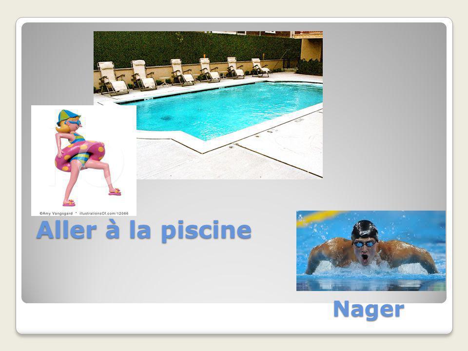 Aller à la piscine Nager Nager