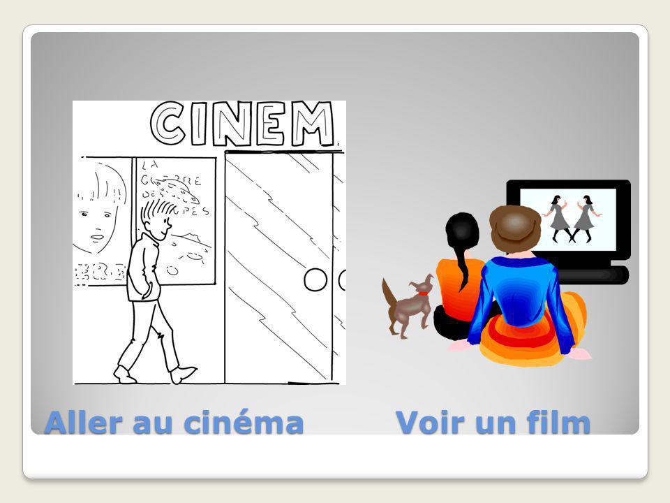 Aller au cinéma Voir un film