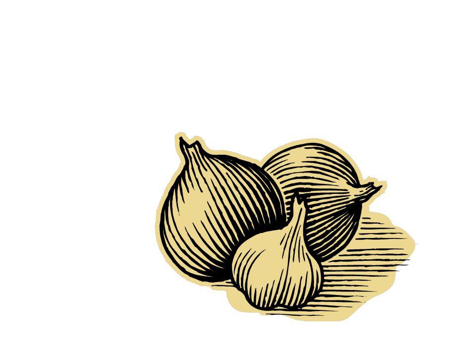 Les oignons (m.)