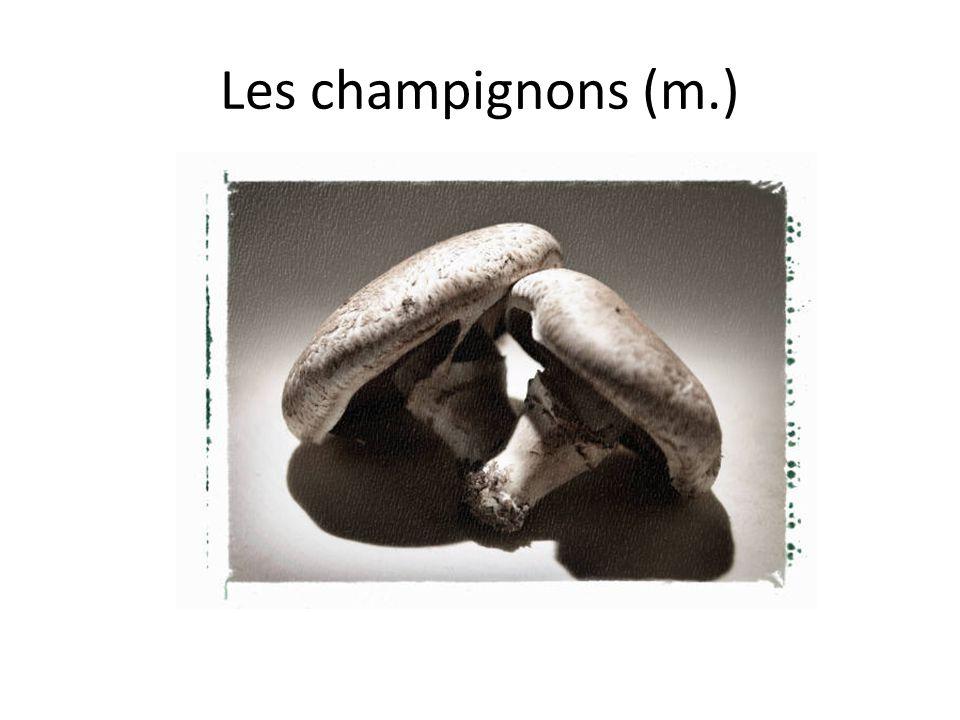 Les champignons (m.)