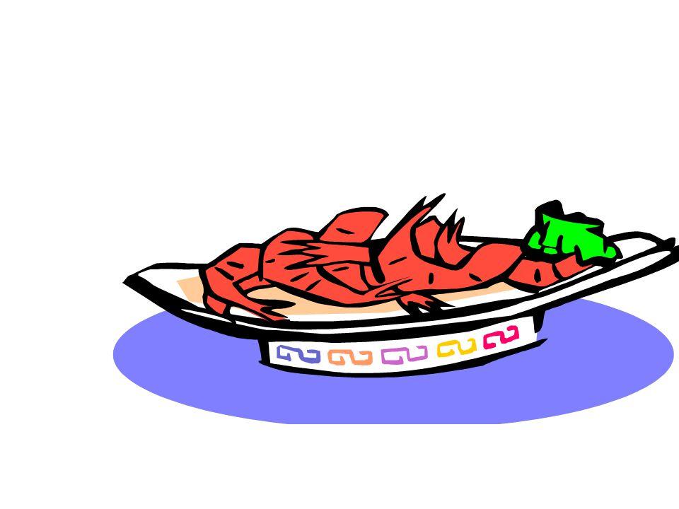 Les crevettes (f.)