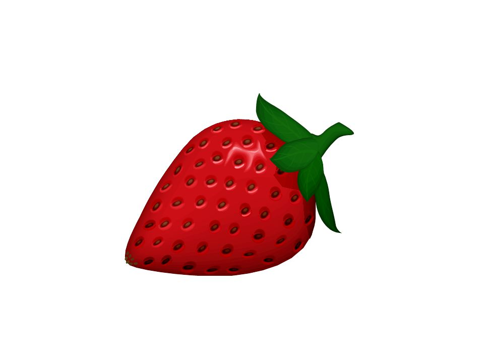 Cest une fraise.