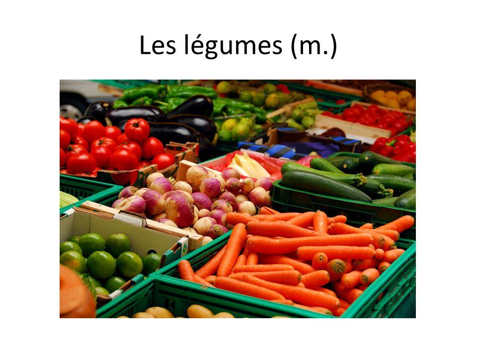 Les légumes (m.)