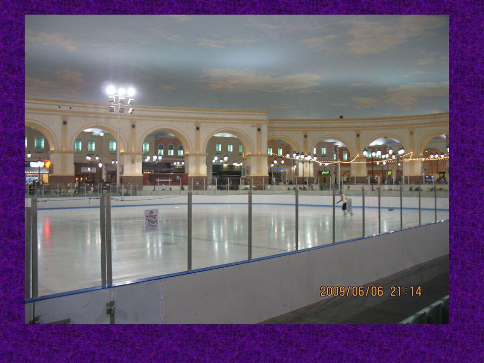 Après, nous sommes allés faire de patinage sur glace