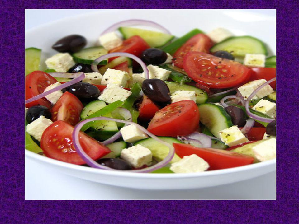 J ai mangé beaucoup de salade pour mon diner
