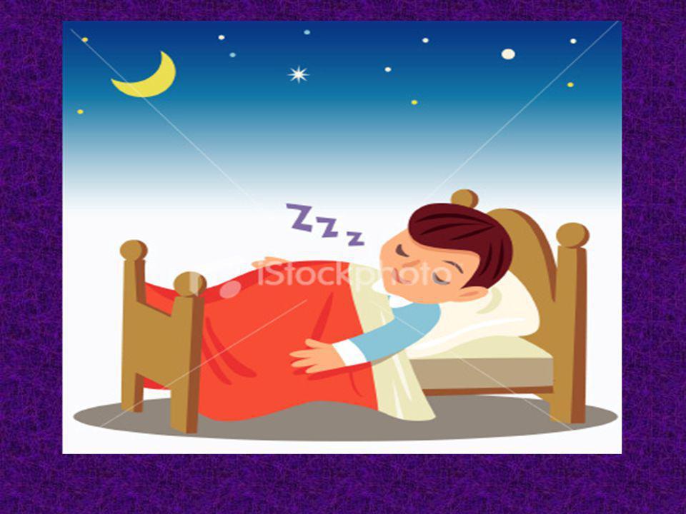 Jai dormi à neuf heures moins le quart parce que j étais fatigué