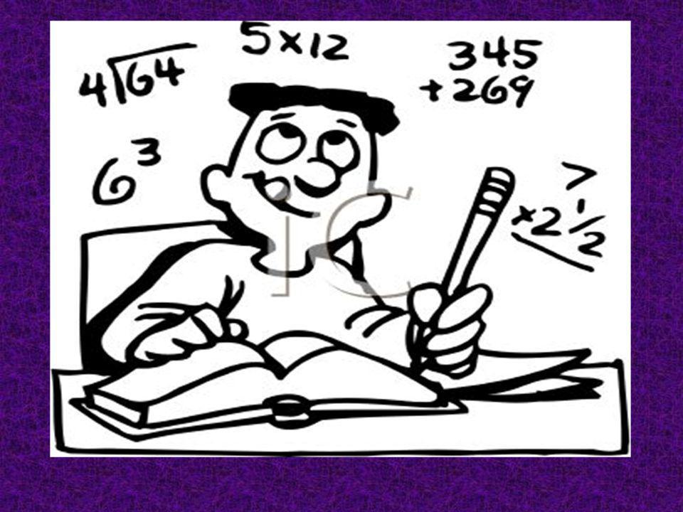 Au Vendredi, dabord J ai fait mes devoirs de Mathématiques.