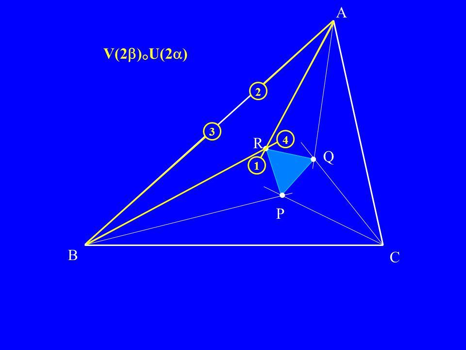 B C P Q R A V(2 ) ° U(2 ) 4 3 1 2