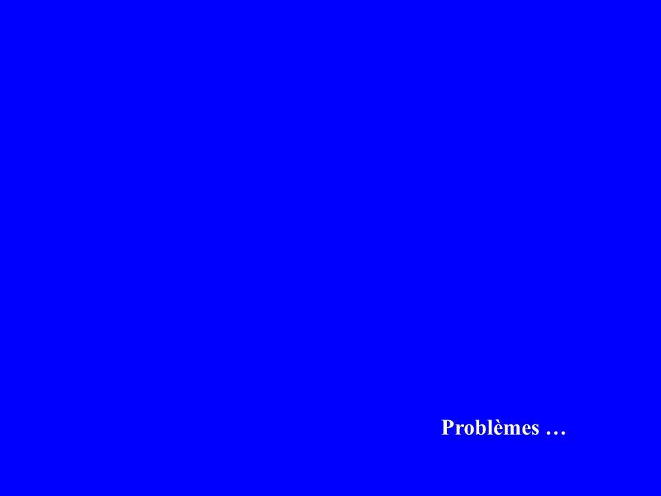 Problèmes …