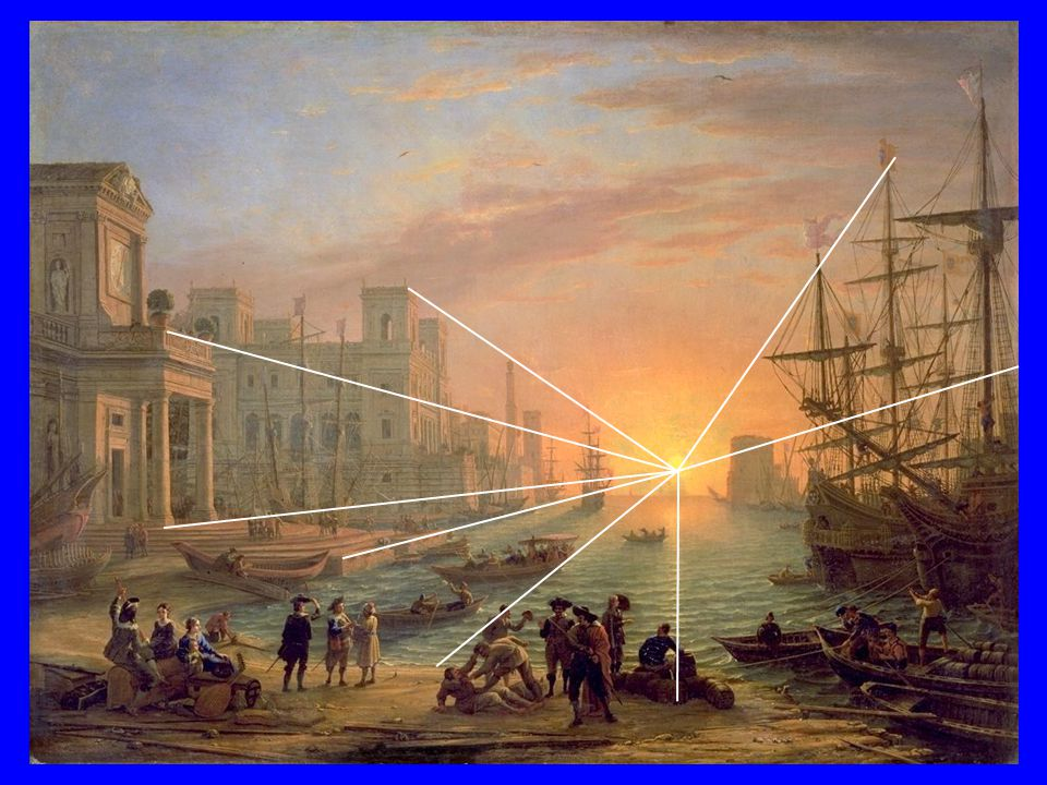 Claude le Lorrain, 1639, Port de mer au soleil couchant