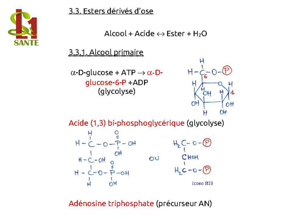 3.3. Esters dérivés dose