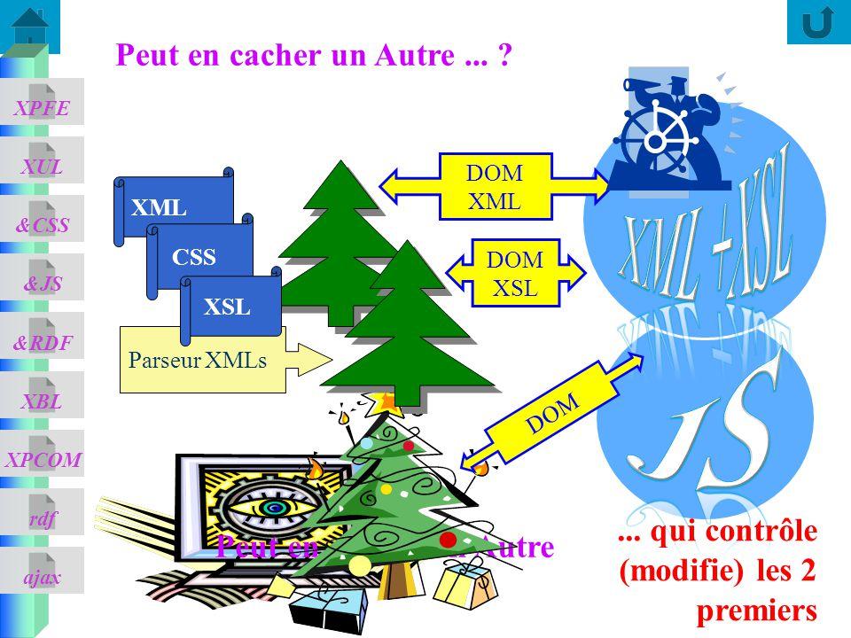 ajax &CSS XUL XPFE &JS &RDF XBL XPCOM rdf Peut en cacher un Autre Peut en cacher un Autre...