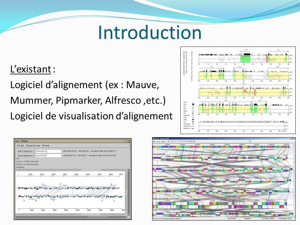 Présentation du projet Sujet : créer un visualisateur de synténies.