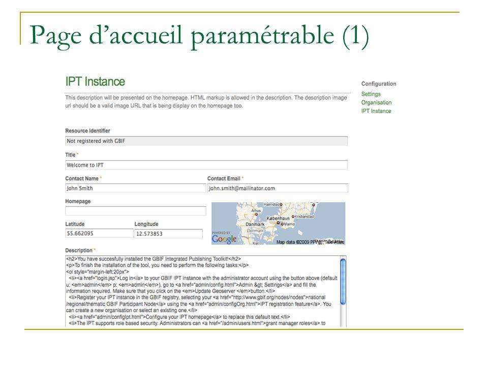 Page daccueil paramétrable (1)