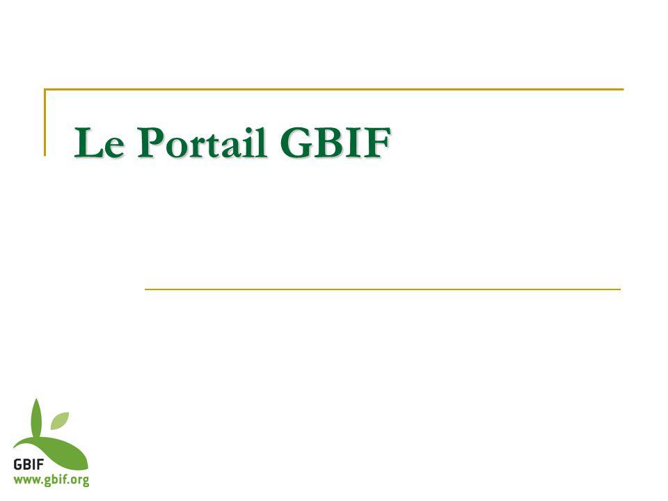 Le Portail GBIF