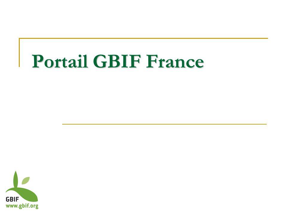 Portail GBIF France