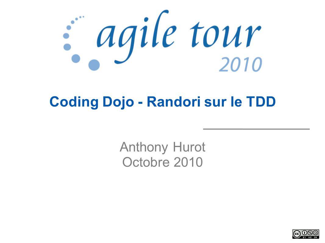 www.agiletour.com 27/10/10 Test Driven Development
