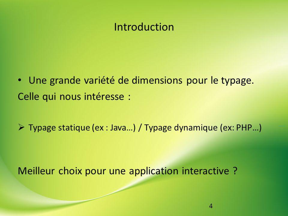 5 Partie 1 : Cas des langages au typage dit statique Définition du typage statique Langages statiques à composantes dynamiques Opposition au typage dynamique