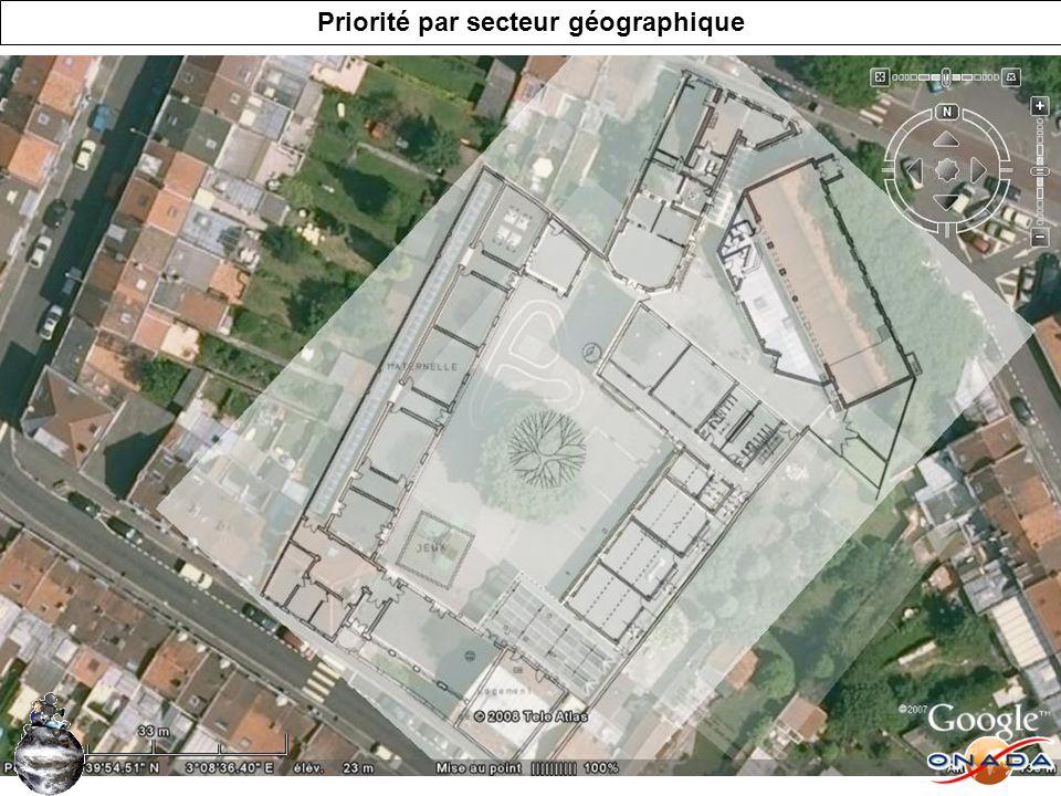 Limites de laudit déterminé par les parcelles Ecole primaire Ecole maternelle Restaurant