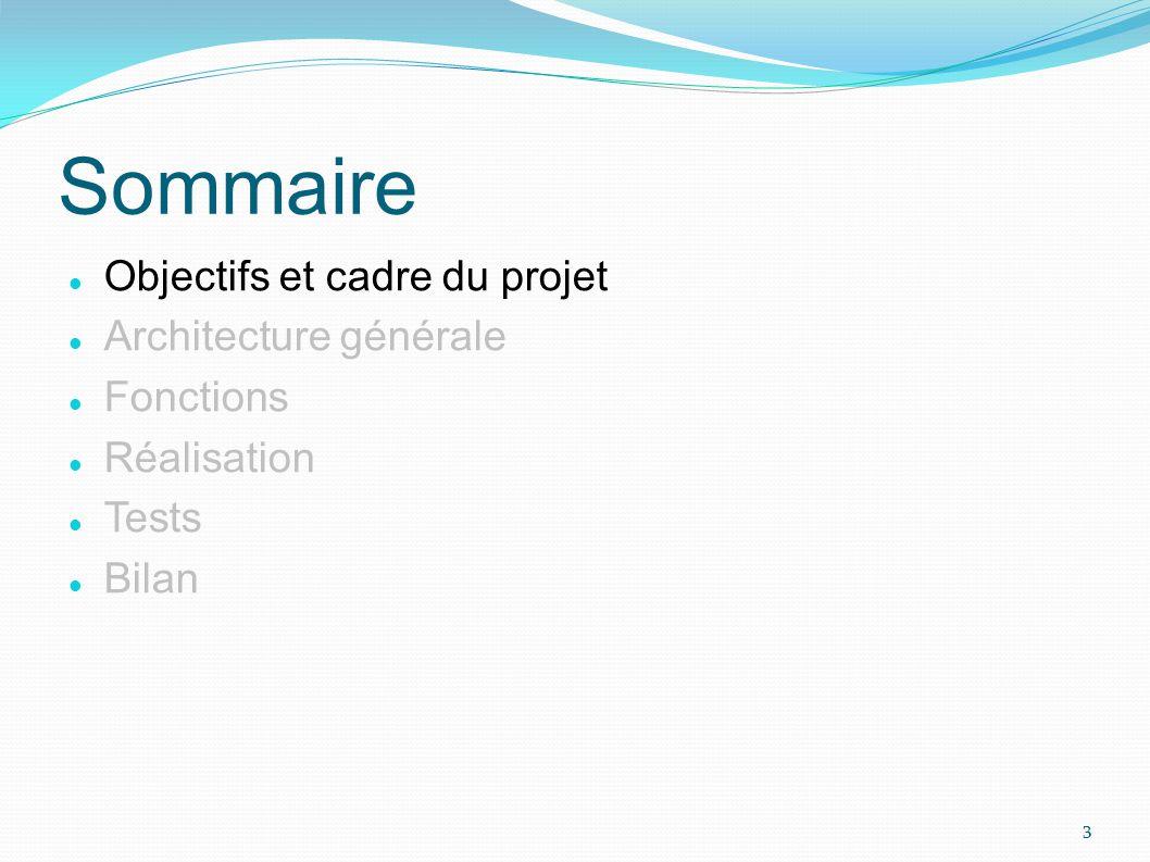 Objectifs : Réaliser un logiciel de navigation « GPS » Montrer la composition et l adaptation de services Servir de base au développement dun démonstrateur Objectifs et cadre du projet 1/5 4