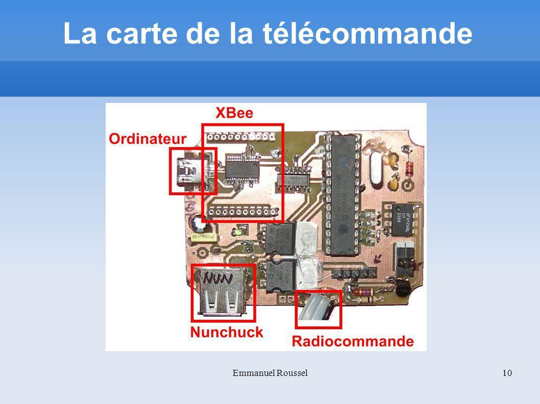 La carte de la télécommande Emmanuel Roussel10