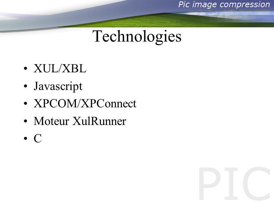 Déroulement du projet Evaluations à plusieurs niveaux Développement séparé XUL/XPCOM Mise en commun du développement