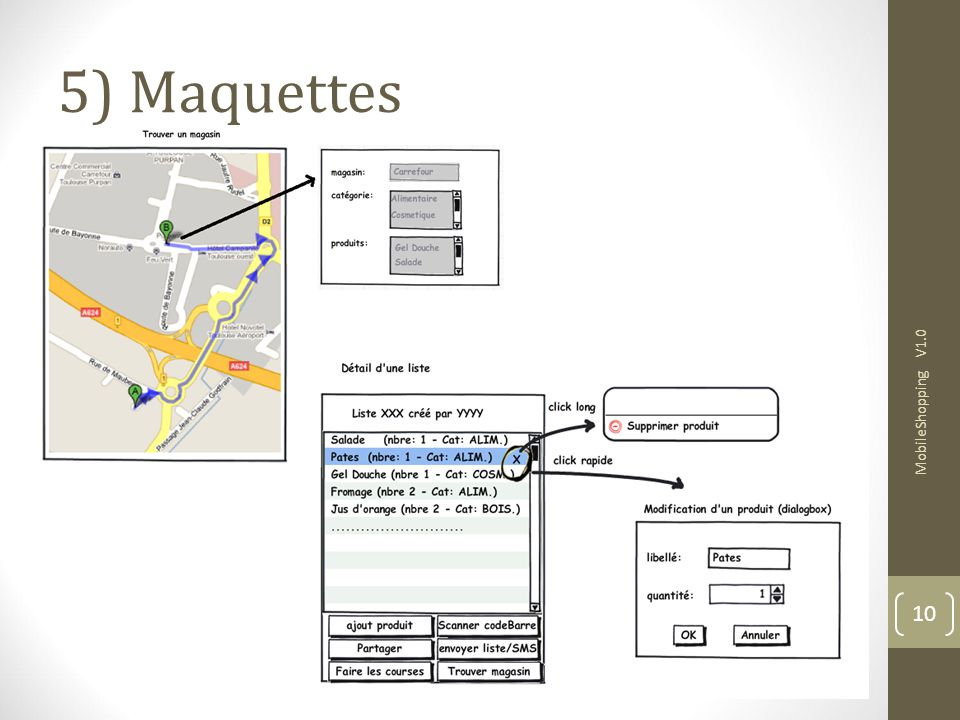 5) Maquettes MobileShopping V1.0 10