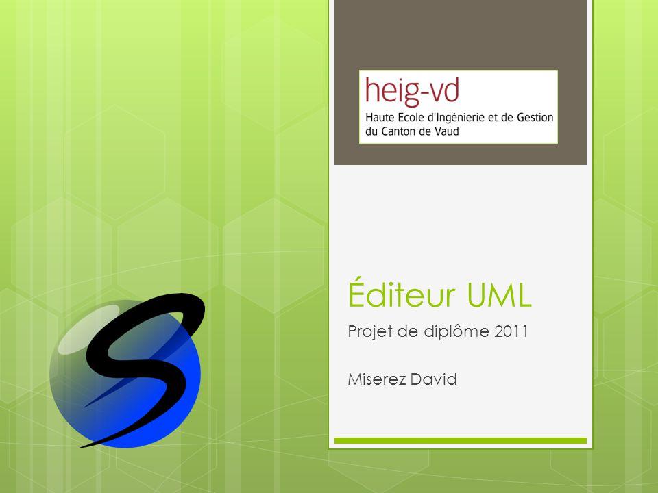 Éditeur UML Projet de diplôme 2011 Miserez David