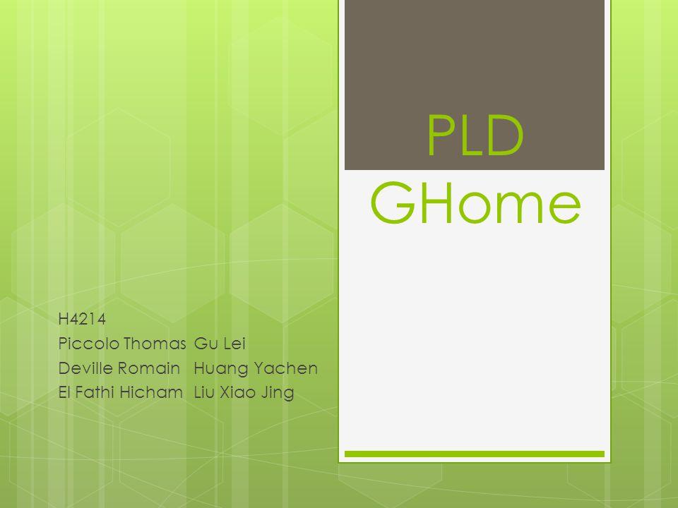 PLD GHome H4214 Piccolo ThomasGu Lei Deville RomainHuang Yachen El Fathi HichamLiu Xiao Jing