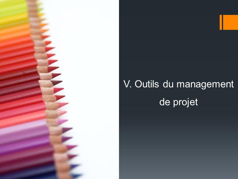 V. Outils du management de projet