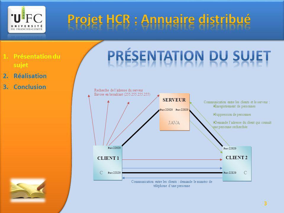 4 1.Présentation du sujet 2.Réalisation Fonctionnement Protocole de communication Difficultés rencontrés 3.Conclusion