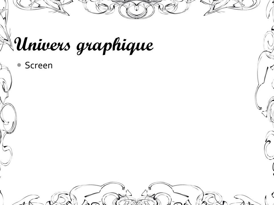 Univers graphique Screen