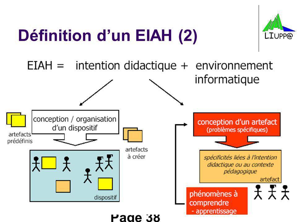 Page 38 Définition dun EIAH (2)