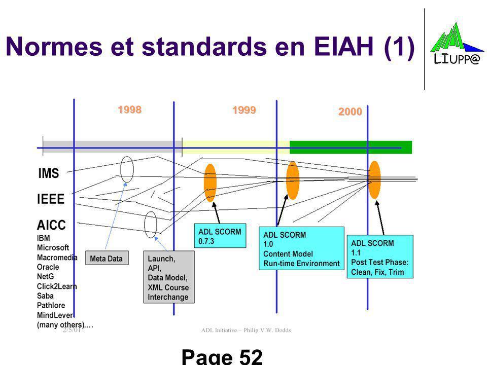 Page 52 Normes et standards en EIAH (1)