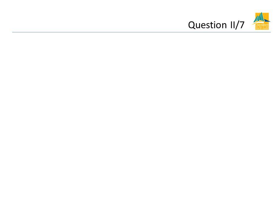 Question II/7