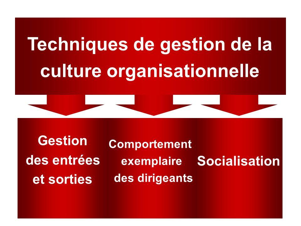 Chapter 1647 Techniques de gestion de la culture organisationnelle Socialisation Comportement exemplaire des dirigeants Gestion des entrées et sorties